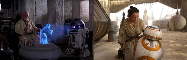 14 điểm trùng hợp bất ngờ trong hai phần Star Wars 7 và 4 - 6
