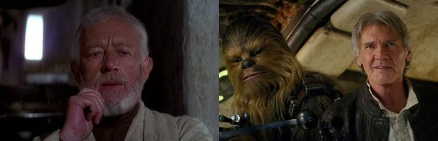 14 điểm trùng hợp bất ngờ trong hai phần Star Wars 7 và 4 - 7