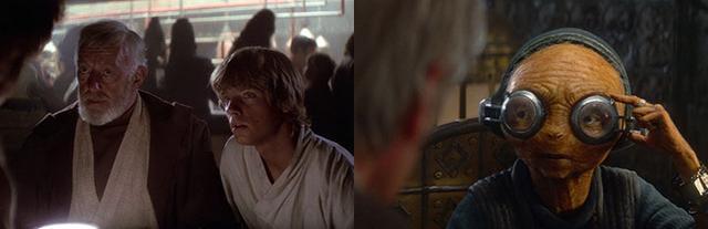 14 điểm trùng hợp bất ngờ trong hai phần Star Wars 7 và 4 - 9