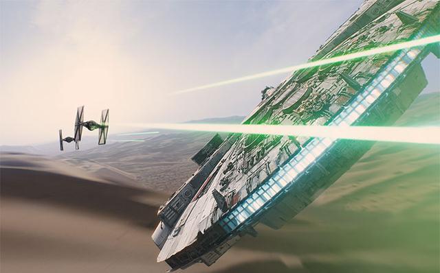 14 điểm trùng hợp bất ngờ trong hai phần Star Wars 7 và 4 - 1