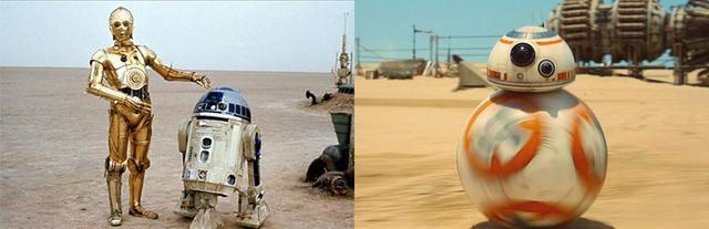 14 điểm trùng hợp bất ngờ trong hai phần Star Wars 7 và 4 - 3