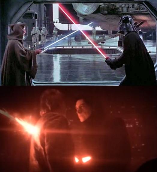 14 điểm trùng hợp bất ngờ trong hai phần Star Wars 7 và 4 - 8