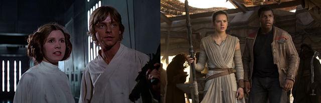 14 điểm trùng hợp bất ngờ trong hai phần Star Wars 7 và 4 - 11