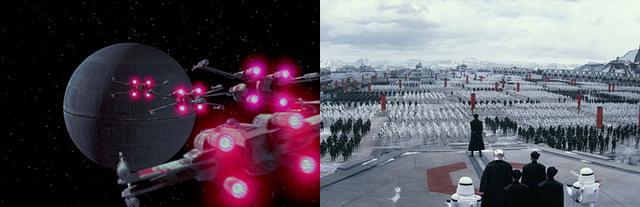 14 điểm trùng hợp bất ngờ trong hai phần Star Wars 7 và 4 - 13