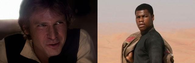 14 điểm trùng hợp bất ngờ trong hai phần Star Wars 7 và 4 - 10