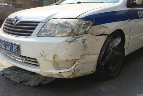 Trộm ô tô đặc chủng của CSGT, bỏ chạy gây náo loạn QL1 - 1