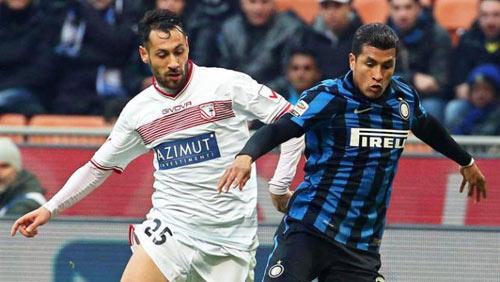 Inter - Carpi: Trái đắng phút bù giờ - 1