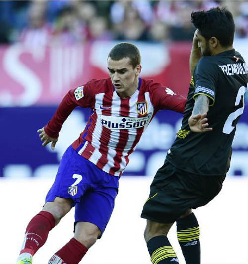 Video Atletico Madrid vs Sevilla - 1