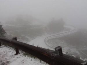 Tin tức trong ngày - Tuyết trắng tuyệt đẹp trên đỉnh Mẫu Sơn