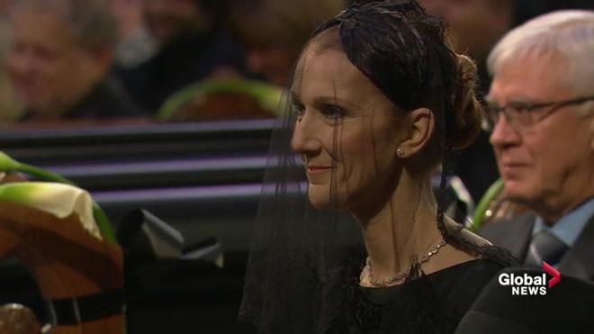 Hai khoảnh khắc rơi lệ trong tang lễ chồng Celine Dion - 4