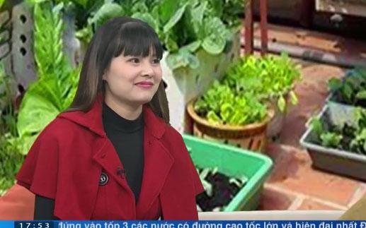 Gặp người phụ nữ thành thị đam mê trồng rau tại nhà - 1
