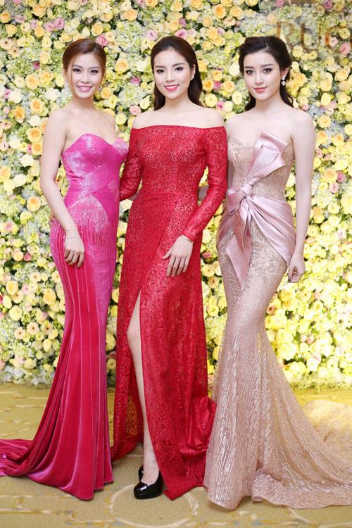 Top 3 Hoa hậu Việt Nam 2014 gợi cảm đọ sắc - 1