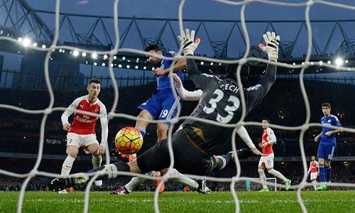 """""""Nọc độc"""" của Costa và sự ngây thơ của Arsenal - 2"""