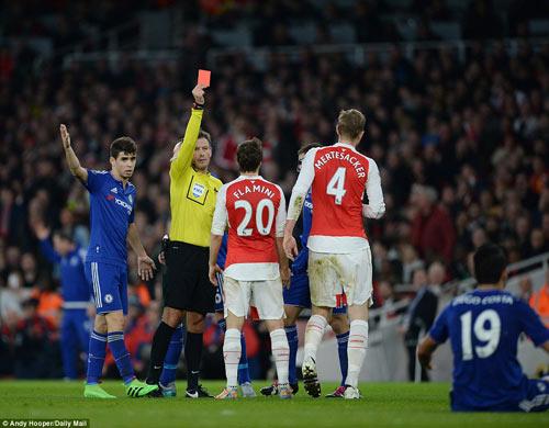 """""""Nọc độc"""" của Costa và sự ngây thơ của Arsenal - 1"""
