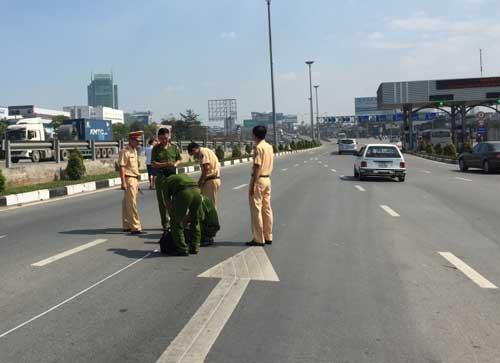 Tin mới vụ trộm xe CSGT gây tai nạn làm náo loạn QL1 - 1