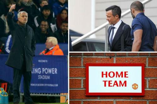 """Mourinho sốt ruột, """"siêu cò"""" giục MU sa thải Van Gaal - 1"""