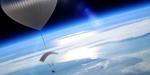 Du lịch không gian bằng khinh khí cầu - 1