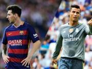 Bóng đá - Tiêu điểm La Liga V21: Messi cười nụ, Ronaldo khóc thầm