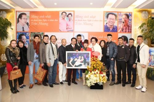 Diễn viên Trần Nhượng vui mừng vì được phong NSND - 3