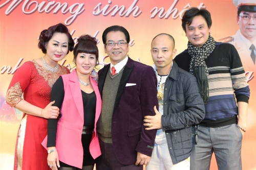 Diễn viên Trần Nhượng vui mừng vì được phong NSND - 5