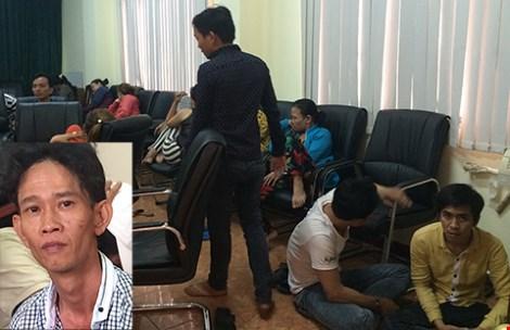 60 cảnh sát phá sòng tài xỉu trong khách sạn - 1
