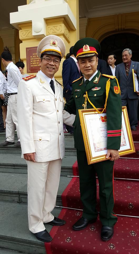 Diễn viên Trần Nhượng vui mừng vì được phong NSND - 2