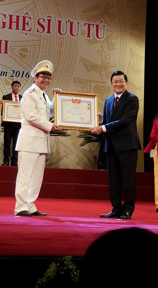 Diễn viên Trần Nhượng vui mừng vì được phong NSND - 1