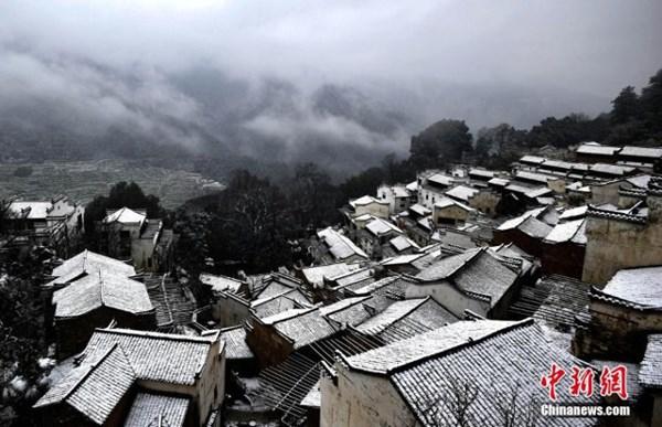 Tuyết phủ trắng xóa, Trung Quốc đẹp như trong phim - 8