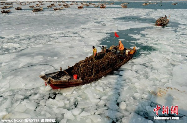 Tuyết phủ trắng xóa, Trung Quốc đẹp như trong phim - 10