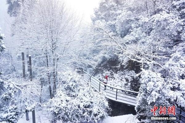 Tuyết phủ trắng xóa, Trung Quốc đẹp như trong phim - 11