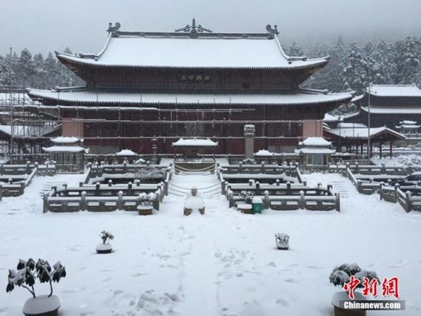 Tuyết phủ trắng xóa, Trung Quốc đẹp như trong phim - 12