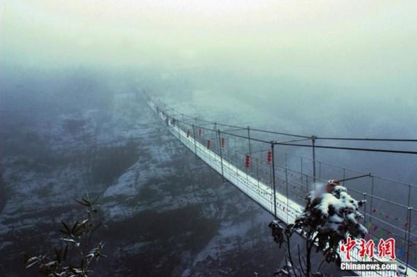 Tuyết phủ trắng xóa, Trung Quốc đẹp như trong phim - 2