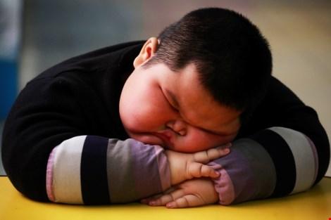 Nửa số trẻ béo phì toàn cầu là ở châu Á - 1