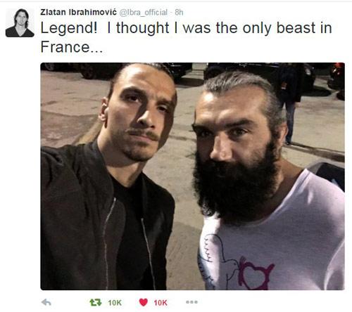 Ibrahimovic bất ngờ thượng đài đấu boxing - 3