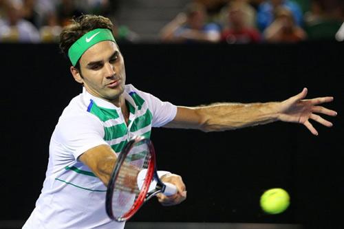 """Hot shot: Federer lên lưới """"hành hạ"""" Berdych - 1"""