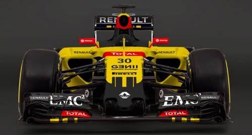 F1 2016: Renault sớm công bố mẫu xe mới - 1