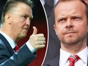 Bóng đá - Van Gaal gặp sếp MU, tha thiết xin cơ hội cuối