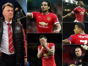 Bóng đá - 15 hợp đồng của Van Gaal ở MU: Không ai đạt điểm giỏi