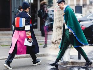 Thời trang đường phố cực 'chất' bên lề Paris MFW 2016