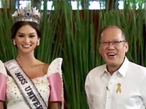 Tân Hoa hậu Hoàn vũ diện kiến tổng thống Philippines