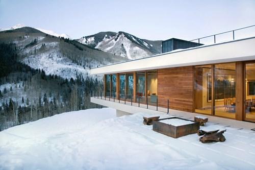 """Đẹp """"tê tái"""" những ngôi nhà ẩn mình trong tuyết trắng - 8"""