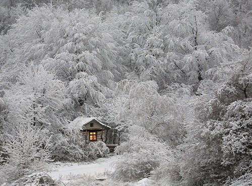 """Đẹp """"tê tái"""" những ngôi nhà ẩn mình trong tuyết trắng - 10"""