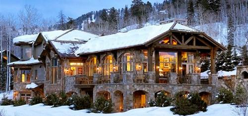 """Đẹp """"tê tái"""" những ngôi nhà ẩn mình trong tuyết trắng - 3"""