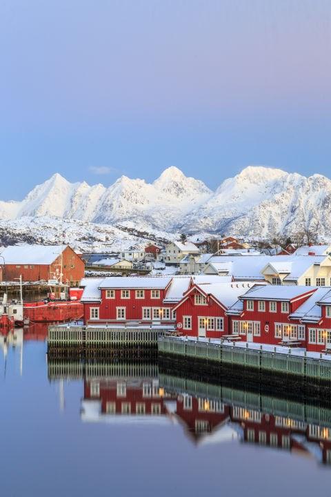 """Đẹp """"tê tái"""" những ngôi nhà ẩn mình trong tuyết trắng - 4"""