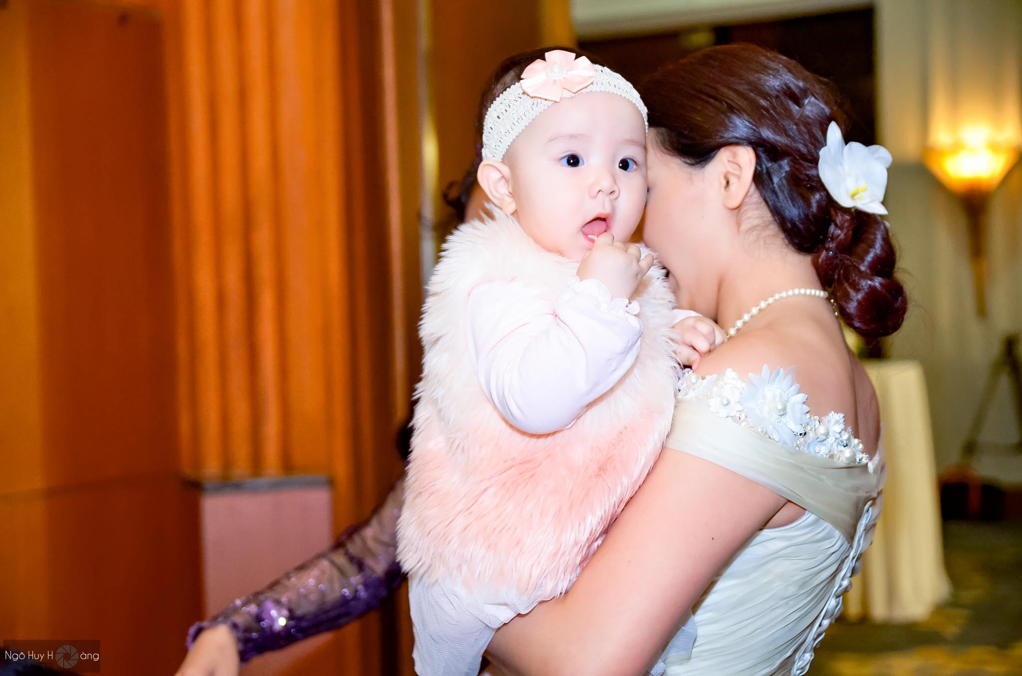 'Mốt' cho con xuất hiện trong đám cưới của sao Việt - 3