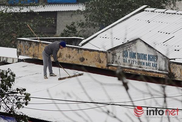 Những cung đường tuyết trên đỉnh núi Lào Cai - 11