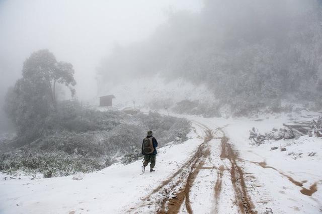 Lạ kỳ băng tuyết ở nơi nóng nhất Việt Nam - 1