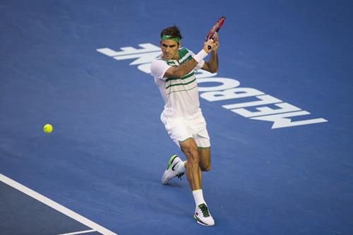 Thời trang Australian Open: FedEx lịch lãm đứng đầu - 1
