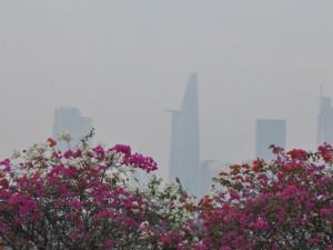 Sài Gòn tháng Chạp se lạnh và xuất hiện sương mù