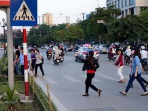 CSGT Hà Nội sẽ xử lý người đi bộ vi phạm giao thông